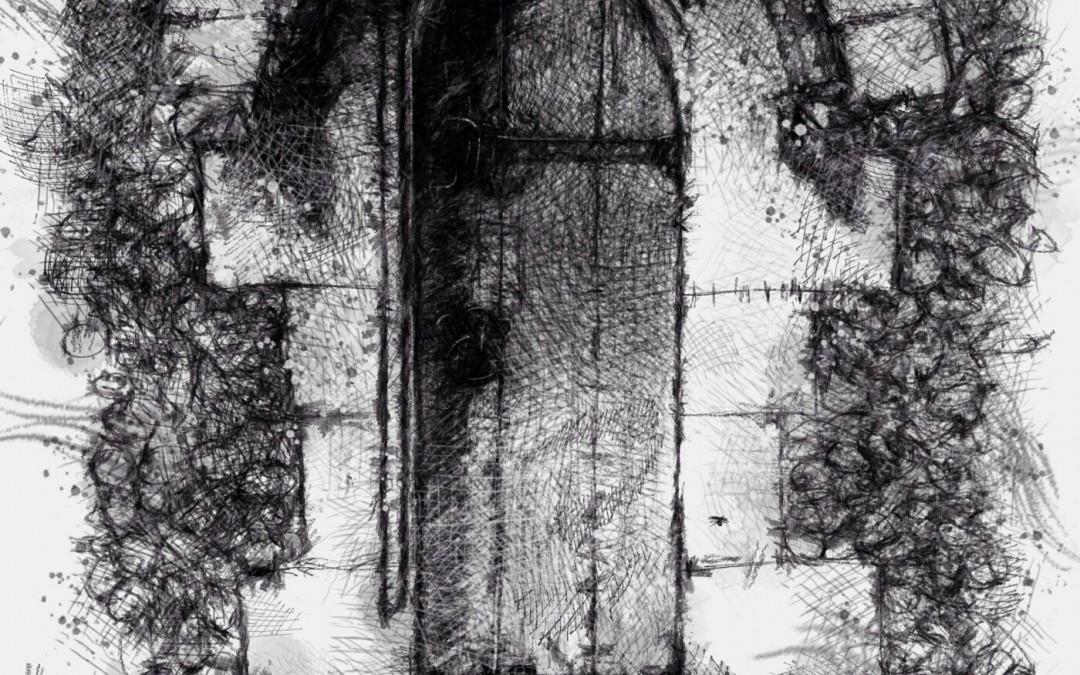 Church door